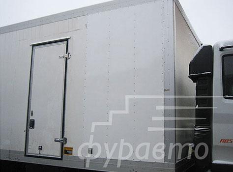 нестандартный кузов изотермического фургона