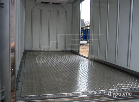 внутренняя отделка изотермического фургона Hyundai